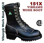 CSA approved safety work boot - handcrafted by Viberg boot manufacturing